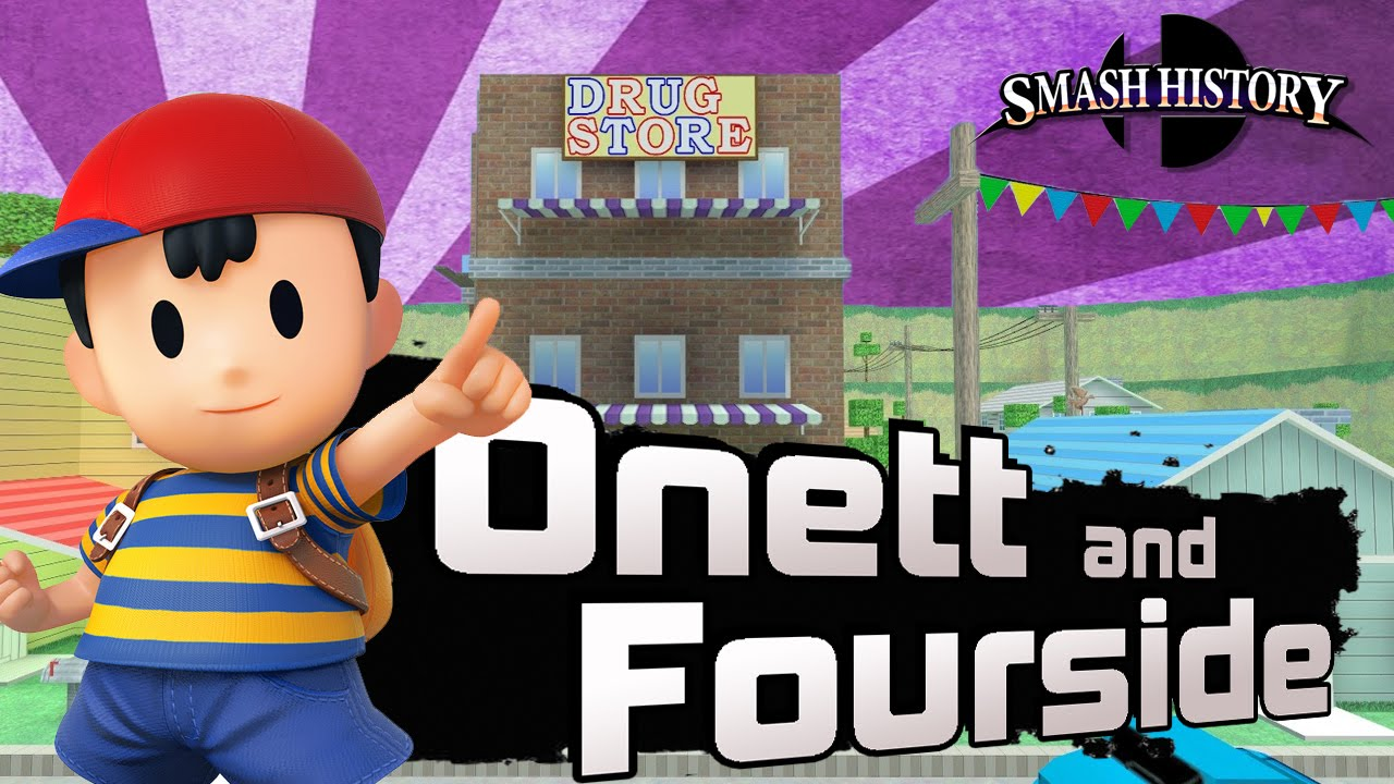 Smash History: Earthbound's Onett and Fourside (Super Smash Bros 3DS